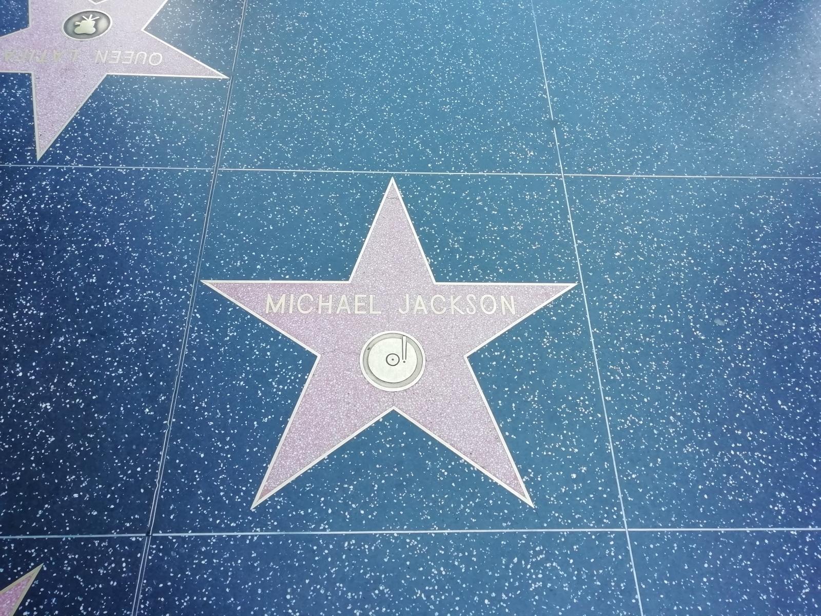 Звезда Майкла Джексона