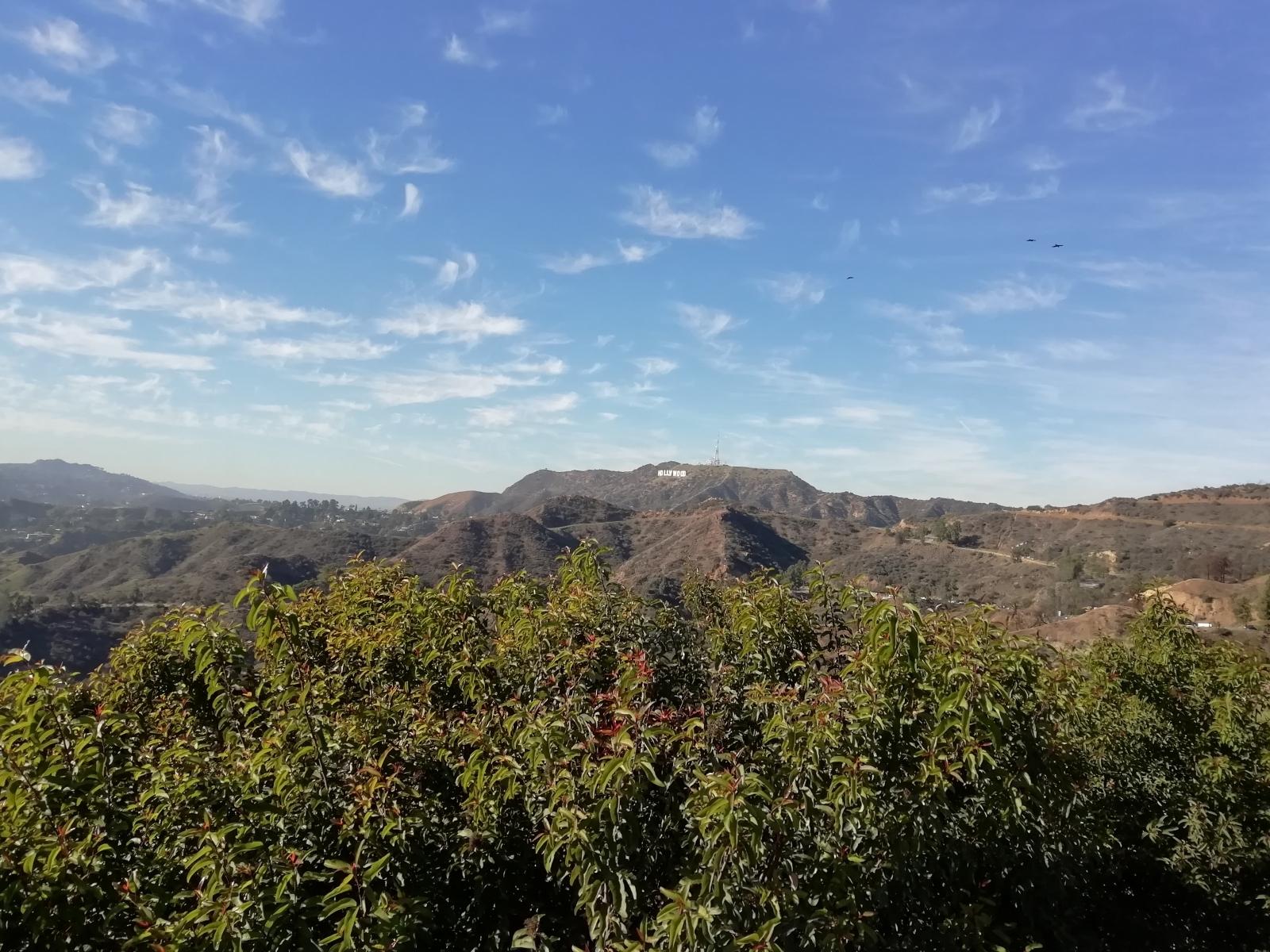Вид от площадки обсерватории Гриффита
