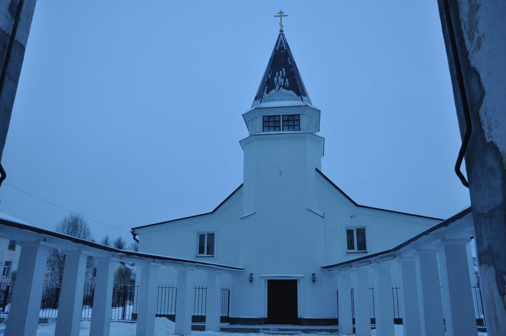 Это часть церкви.